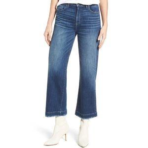 Paige Nellie High Waist Culotte Jeans Effie Wash